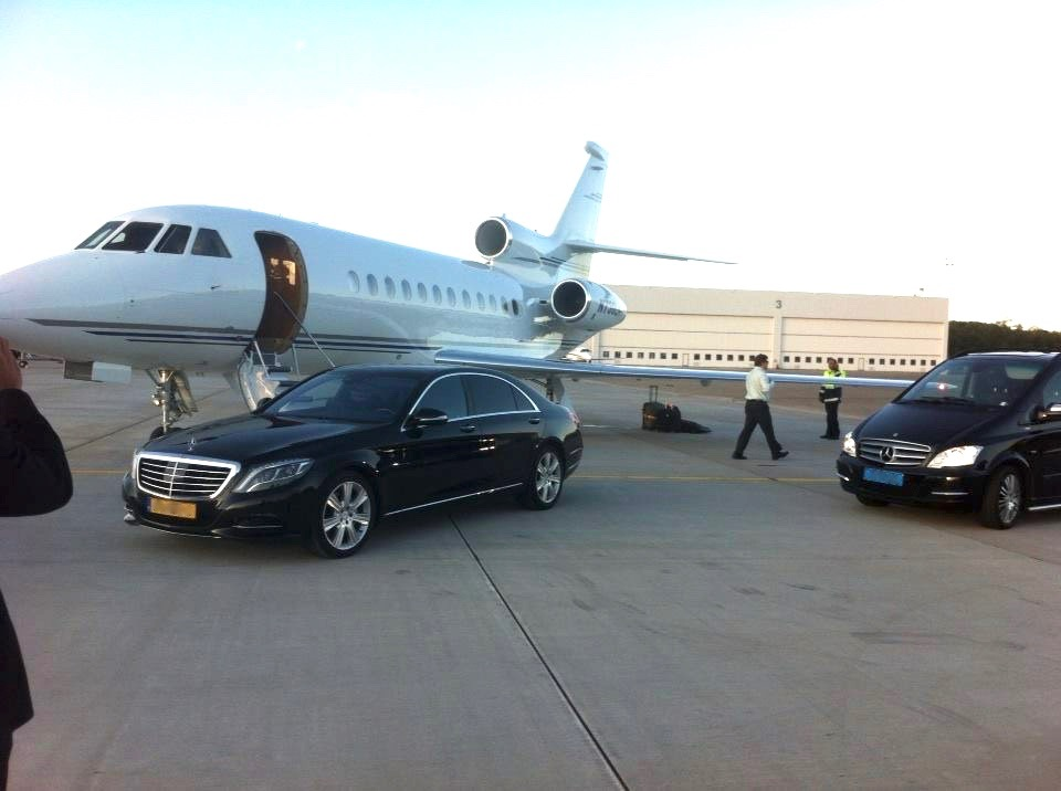 Private Jet centre transfers